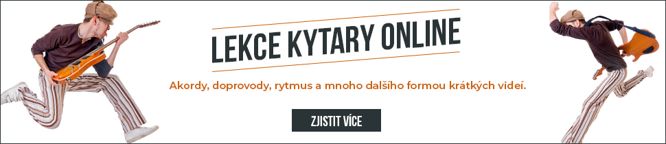 Lekce kytary online